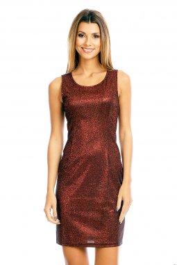 Společenské šaty Shara vínově červené