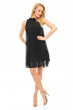 Koktejlové šaty Leandra černé
