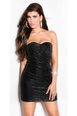 Společenské šaty Petrina černé
