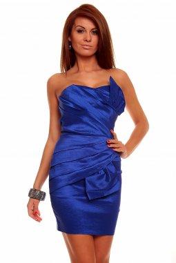 Společenské šaty Natalie modré