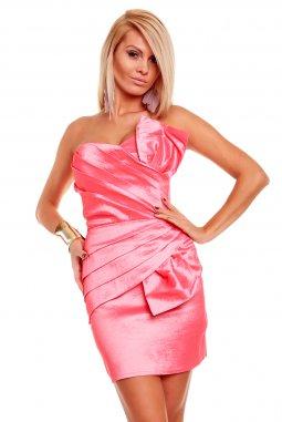 Společenské šaty Natalie lososové