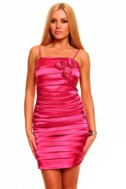Společenské šaty Matilda růžové