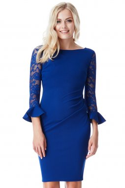 Společenské šaty Betty modré