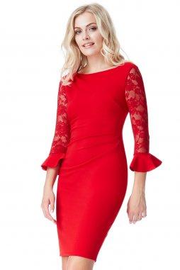 Společenské šaty Betty červené