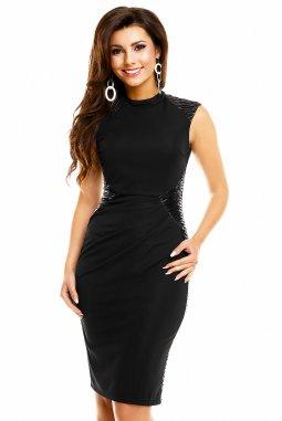Společenské šaty Tangela černé