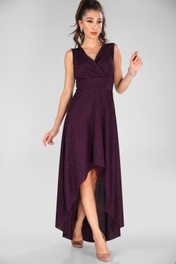 Společenské šaty Tammy fialové