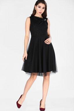 Společenské šaty Viva černé