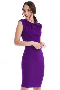 Společenské šaty Haydee fialové