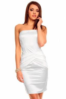 Společenské šaty Luisa II bílé