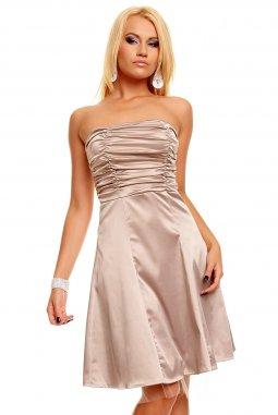 Plesové šaty Scarlett II béžové