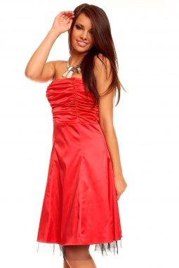 Plesové šaty Scarlett II červené