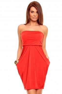 Šaty Daphne červené