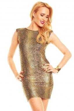 Společenské šaty Hester zlaté
