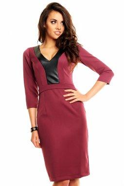 Společenské šaty Beatriz fialové