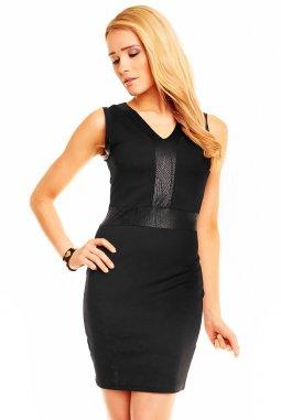 Společenské šaty Donita černé