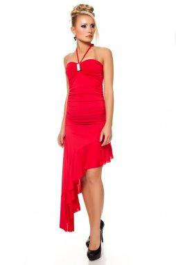Plesové šaty Rosalinda II červené 4ce0545817