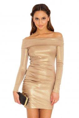 Společenské šaty Rubie zlaté