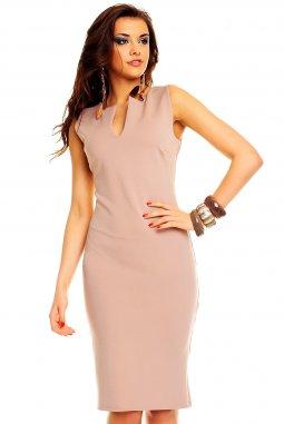 Společenské šaty Maribel béžové