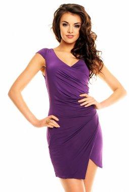 Společenské šaty Alycia fialové