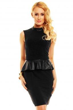 Koktejlové šaty Vida černé