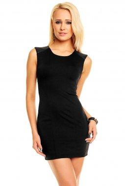 Společenské šaty Mira černé