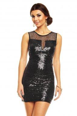 Společenské šaty Jenelle černé