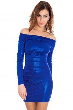 Společenské šaty Rubie modré