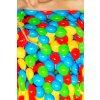 Šaty Risa vzor barevné balónky detail
