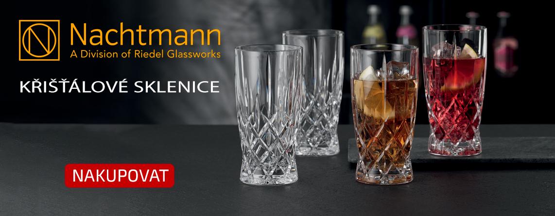 Kvalitní luxusní křišťálové sklenice za dostupnou cenu