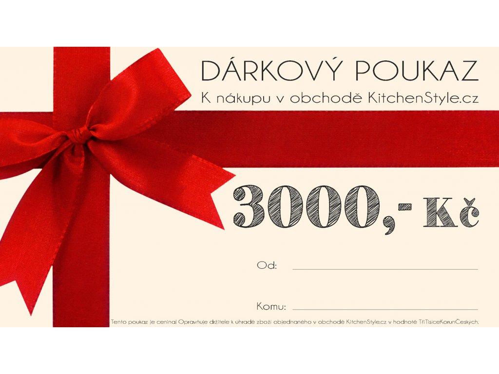 1030 1 darkovy poukaz kitchenstyle v hodnote 3000 kc