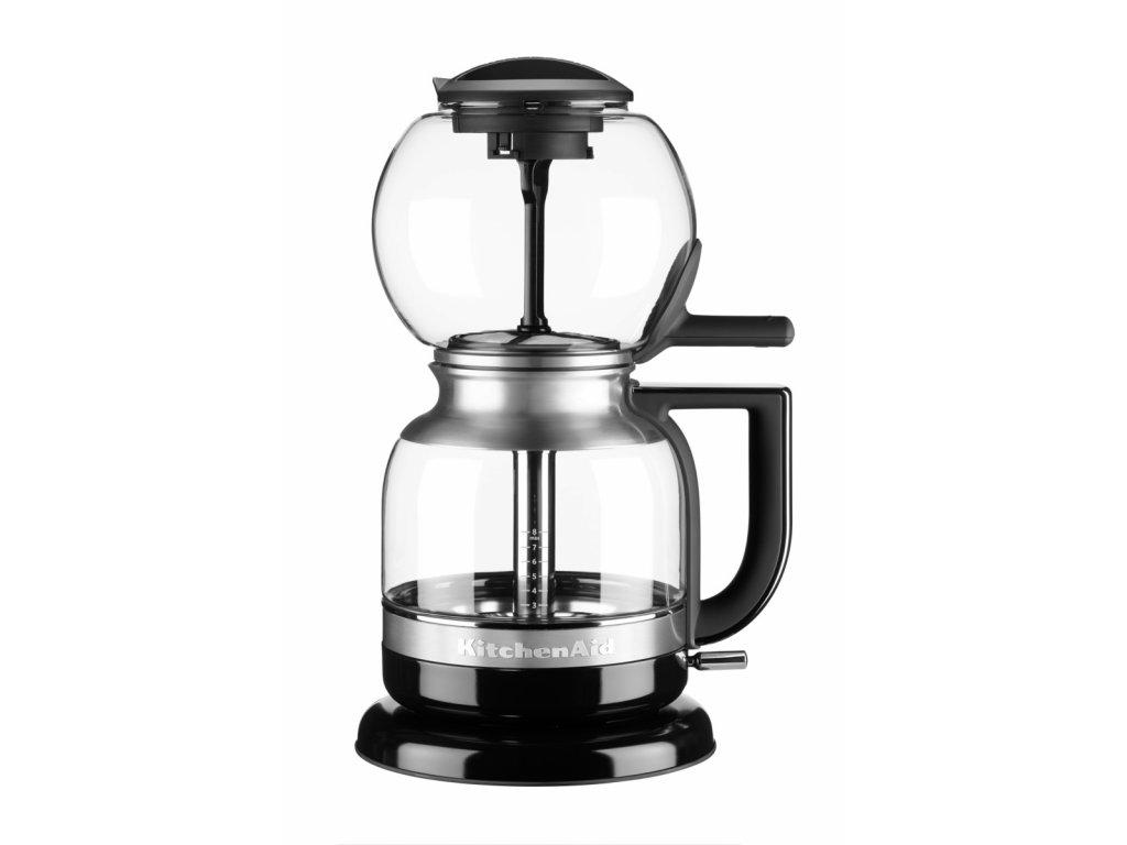 Sifonový kávovar 5KCM0812E - černá, KitchenAid