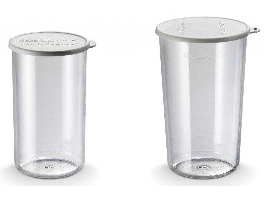 Sada nádob 600 ml a 400 ml TRITAN + víčko, BAMIX