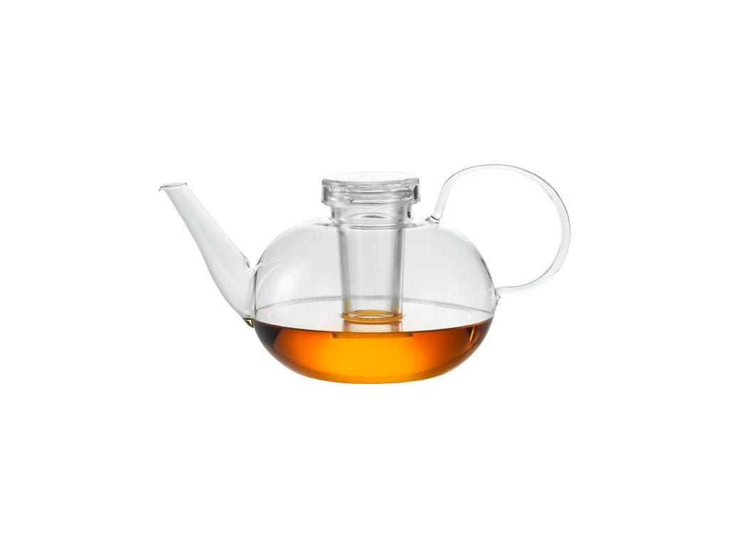 Čajová konvice 1500ml, design Wilhelm Wagenfeld, JENAER GLAS