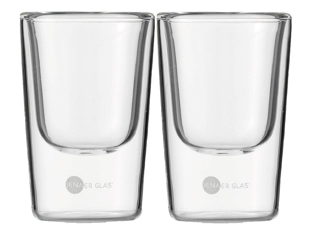 Set 2 ks termosklenic na Espresso 85ml,  Hot´n Cool, JENAER GLAS