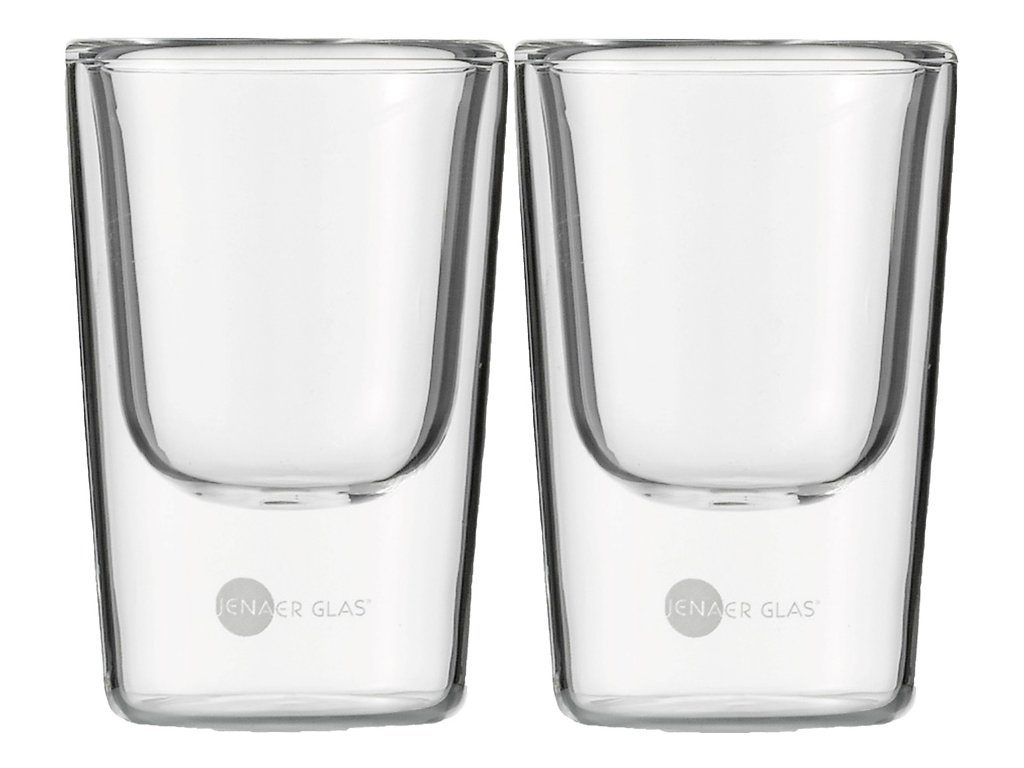 Set 2 ks termosklenic na Espresso 85ml,  Hot´n Cool, JENAER GLAS