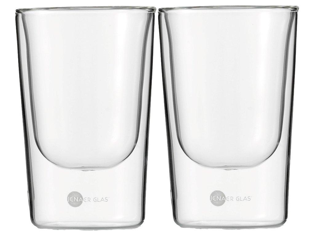 Set 2 ks termosklenic na Kávu 146ml,  Hot´n Cool, JENAER GLAS
