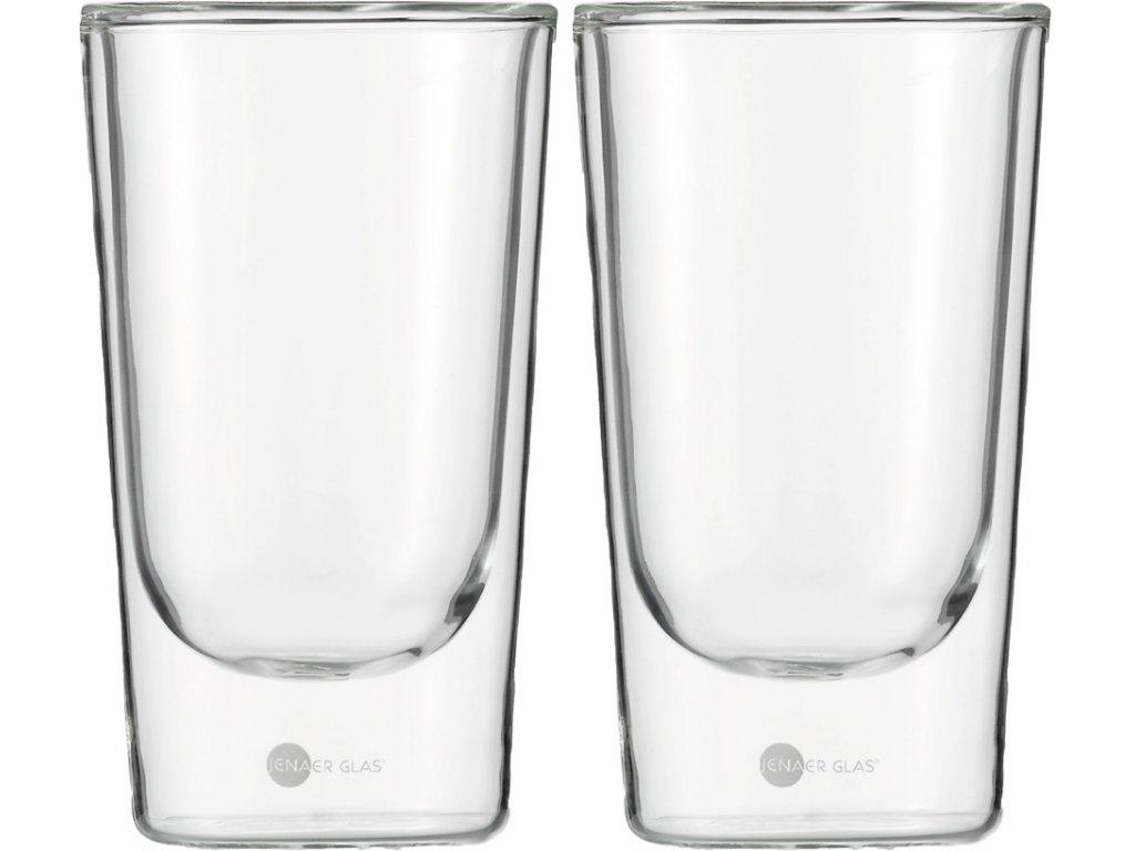 Set 2 ks termosklenic na Latte Macchiatto 352ml  Hot´n Cool, JENAER GLAS