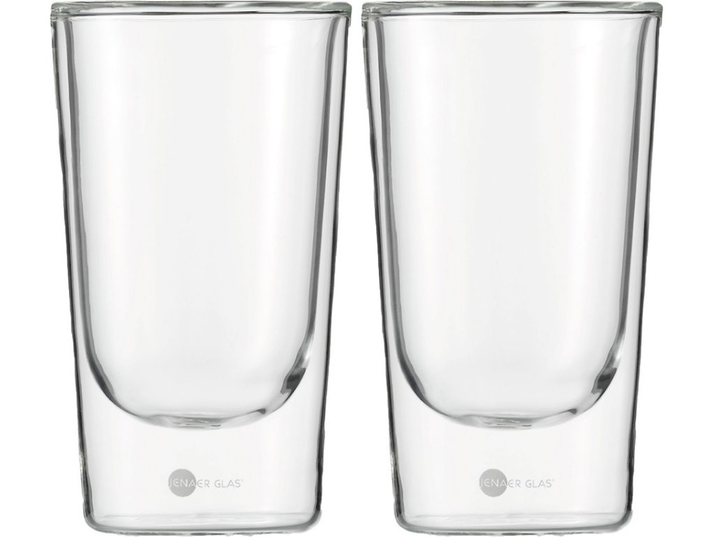 Set 2 ks termosklenic na Latte Macchiatto 355ml  Hot´n Cool, JENAER GLAS