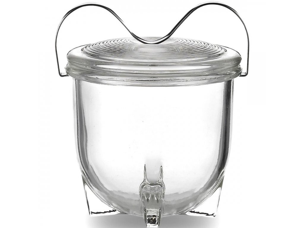 Varná miska na vejce, dezerty, 65ml, design Wilhelm Wagenfeld, JENAER GLAS
