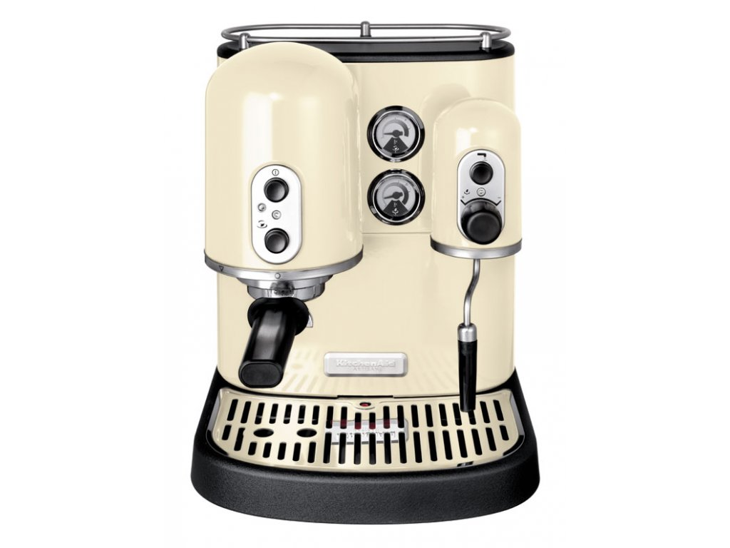 Kávovar Espresso pákový, Artisan 5KES2102, mandlová, KitchenAid