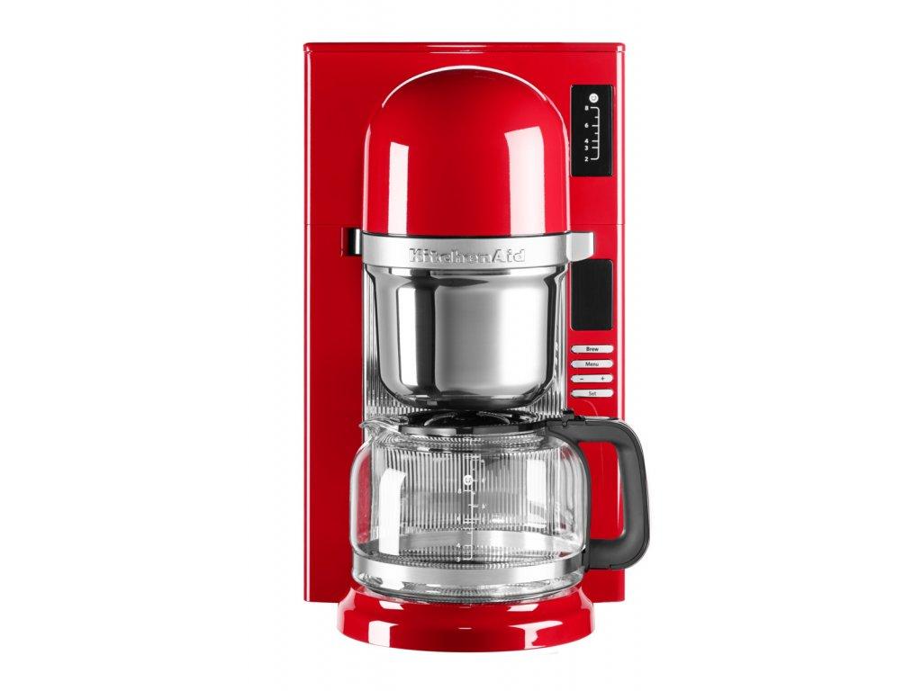 Kávovar na překapávanou kávu 5KCM0802, královská červená,  KitchenAid