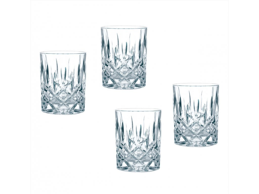 29630 5 kristalove sklenice na rum a whisky noblesse 4ks 295 ml nachtmann