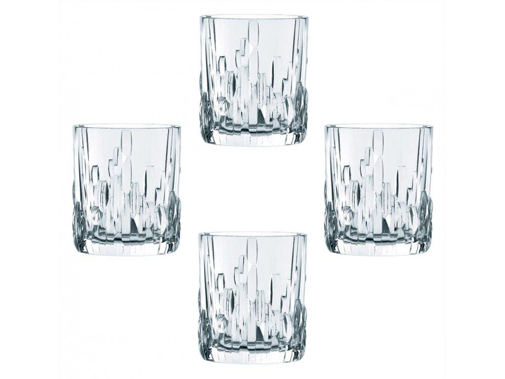 29714 6 kristalove sklenice na rum a whisky shu fa 4ks 330 ml nachtmann