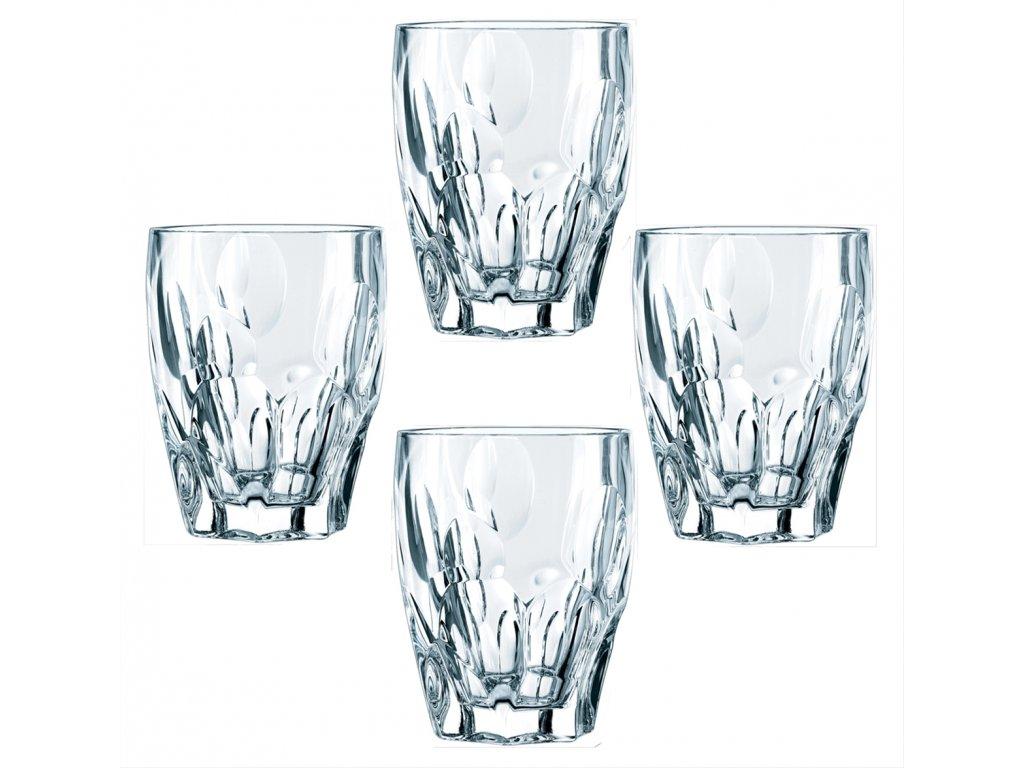 Křišťálové sklenice na Rum a Whisky Sphere 4ks, 300 ml, Nachtmann