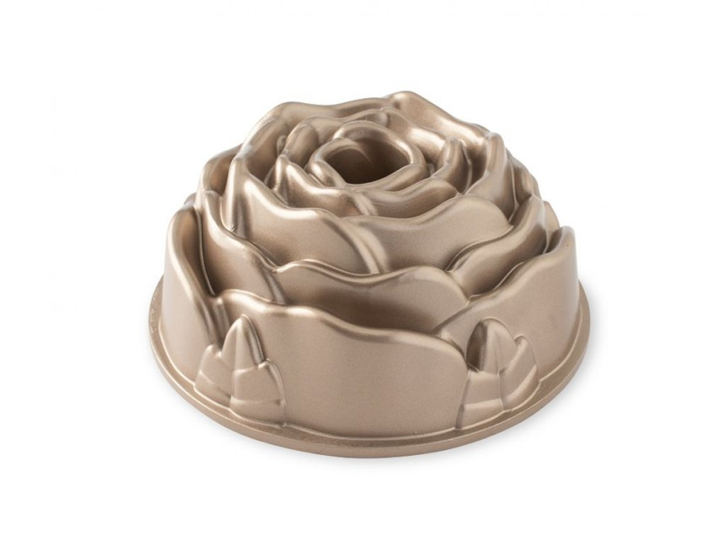 Forma na bábovku Rose zlatá 2,3 l ,NORDIC WARE