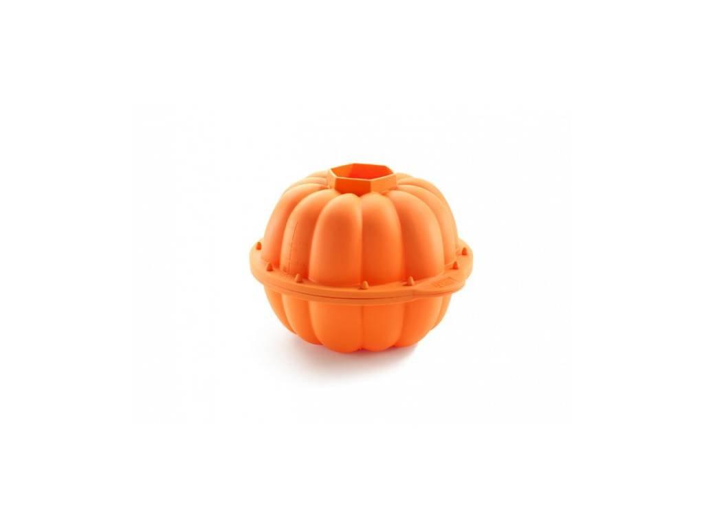 Silikonová forma na pečení bábovky, tvar dýně, Lékué