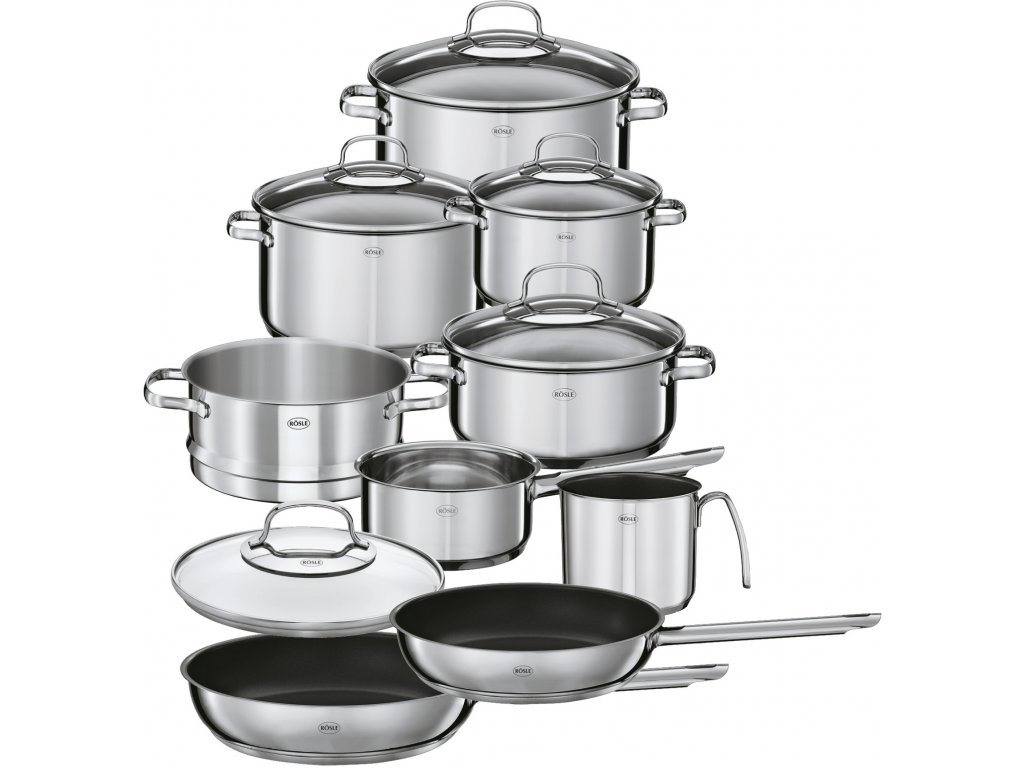 Sada nerezového nádobí DIALOG 10ks, RÖSLE
