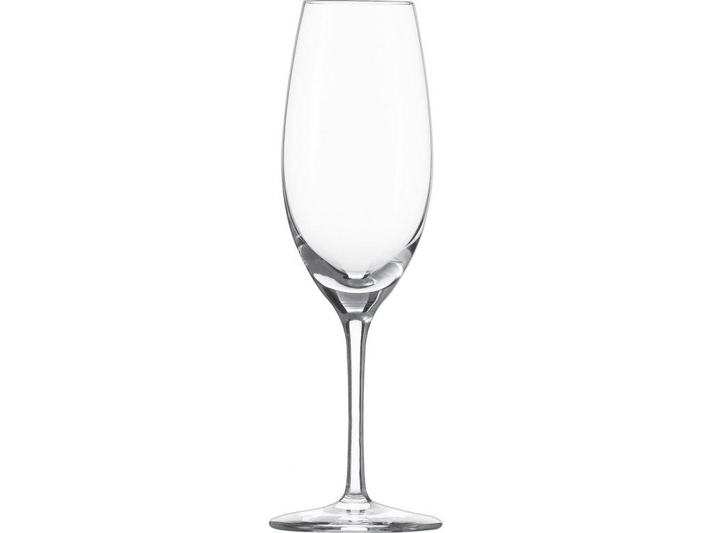 6295 1 kristalove sklenice na sekt 250ml 6ks cru classic schott zwiesel