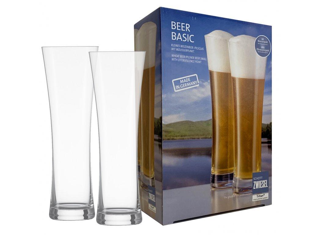 Sklenice na pivo 2ks 0,3 l BEER BASIC, SCHOTT ZWIESEL