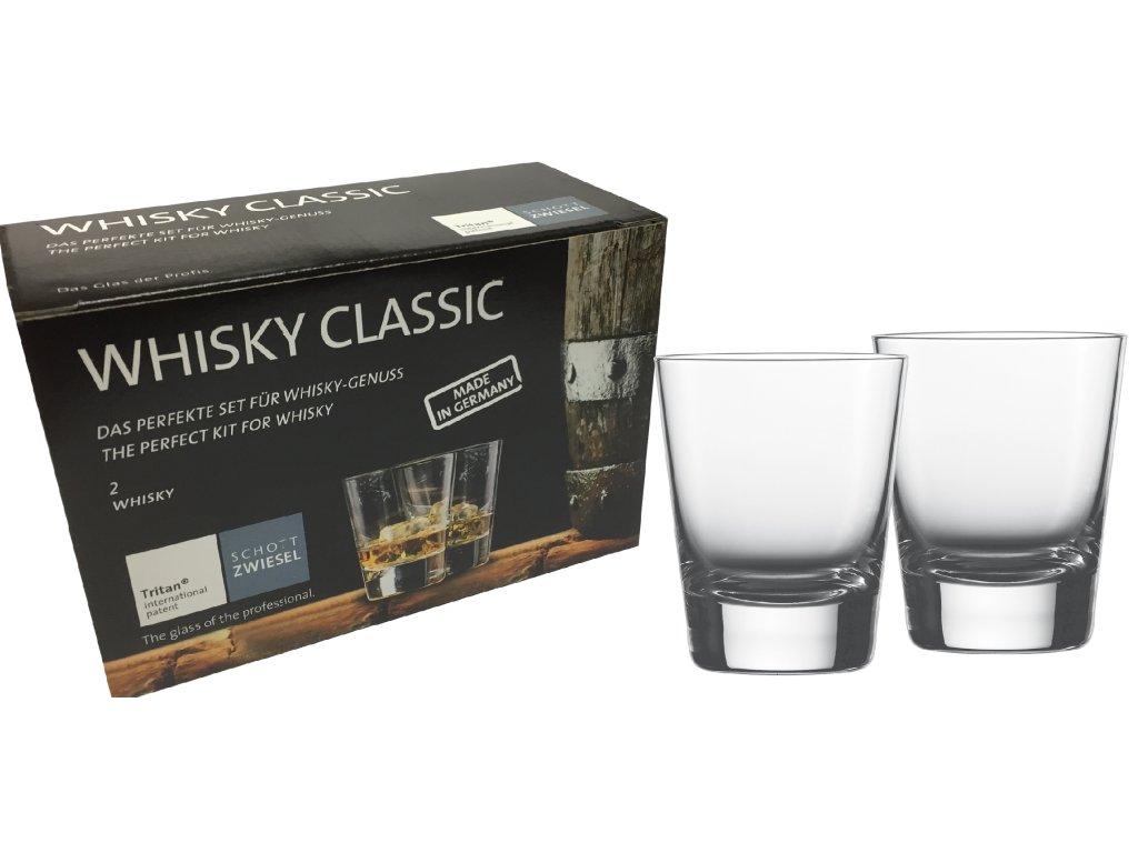 Dárková sada 2 Křišťálových sklenic na Rum, Whisky, 285ml série TOSSA, SCHOTT ZWIESEL